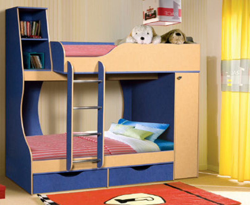 Двухъярусная кровать фото и цены